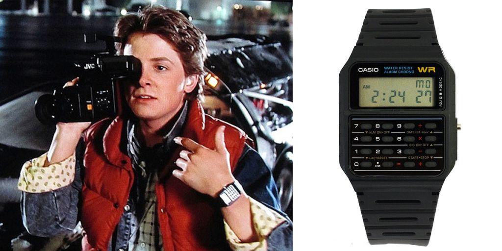 映画『バックトゥザフューチャー』主人公マーティ愛用腕時計「C-50」