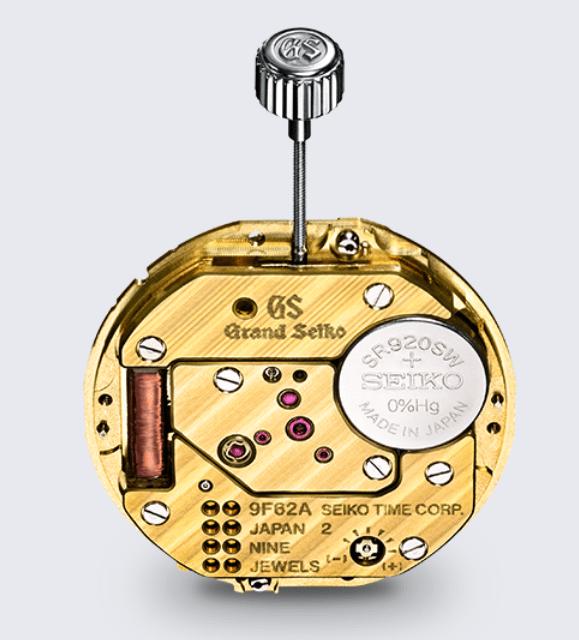 グランドセイコー9F62クオーツムーブメント