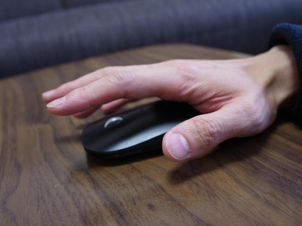 疲れた時にマウスで手を休める方法