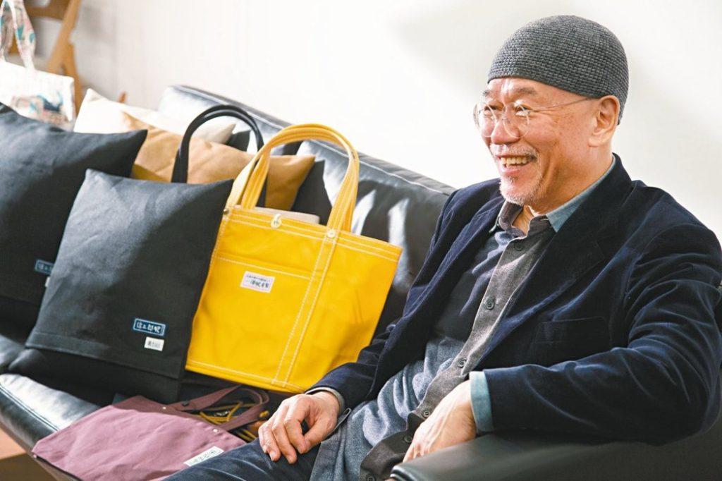 一澤信三郎氏と一澤信三郎帆布のカバン